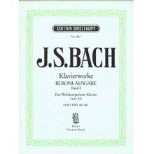 BACH J.S. Das Wohltemperierte Klavier (Heft I) Busoni-Ausgabe