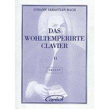 BACH J.S. Das Wohltemperierte Clavier (vol.II)