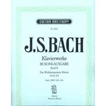 BACH J.S. Das Wohltemperierte Klavier (Heft II) Busoni-Ausgabe