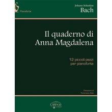 BACH J.S. Il quaderno di Anna Magdalena - 12 piccoli pezzi per pianoforte