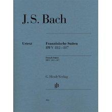 BACH J.S. Franzosische Suiten BWV 812-817