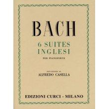 BACH J.S. 6 Suites Inglesi (Casella)