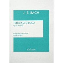 BACH J.S. Toccata e Fuga in Re minore (trascrizione per pianoforte)