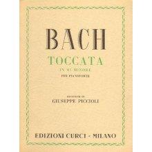 BACH J.S. Toccata in Mi minore (Piccioli)