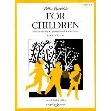 BARTOK B. For Children (volume 1)
