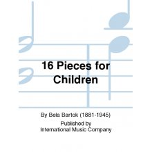 BARTOK B. 16 Pieces for Children (Philipp)