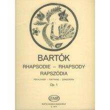 BARTOK B. Rapszodia Zongorara Op.1