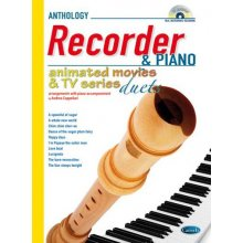 CAPPELLARI Animated Movies and TV Duets for recorder and piano