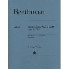 BEETHOVEN L.van Klaviersonate Nr.5 c-moll Opus 10 Nr.1