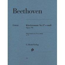 BEETHOVEN L.van Klaviersonate Nr.27 e-moll Opus 90