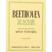 BEETHOVEN L.van 32 Sonate per Pianoforte vol.I (Schnabel)