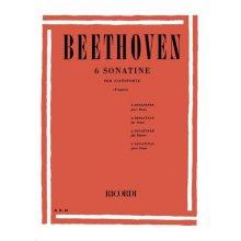 BEETHOVEN L.van 6 Sonatine per Pianoforte (Frugatta)