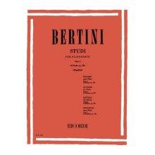 BERTINI E. 25 Studi Op.100 Fasc.I (Mugellini)