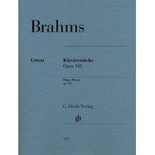 BRAHMS J. Klavierstucke Opus 118