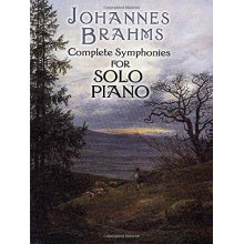 BRAHMS J. Complete Symphonies for solo Piano