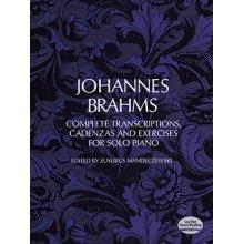 BRAHMS J. Complete transcriptions cadenzas & exercises