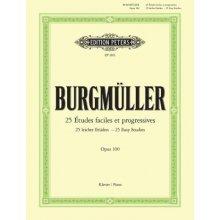 BURGMULLER F. 25 Etudes faciles et progressives Opus 100