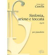 CASELLA A. Sinfonia arioso e toccata Op.59