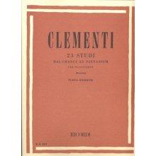Clementi M. 23 Studi dal Gradus ad Parnassum (Montani)