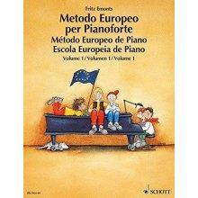 Emonts F. Metodo Europeo per Pianoforte Volume 1