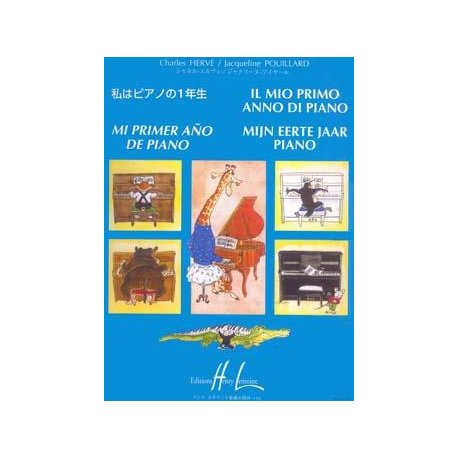 Hervé-Pouillard Il mio primo anno di piano