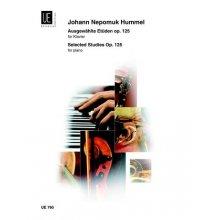 HUMMEL J. Studies Op.125