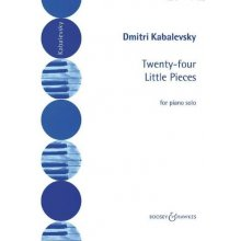 KABALEVSKY D. 24 Little Pieces Op.89