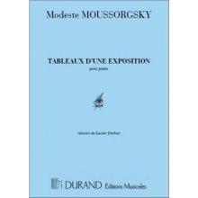 MOUSSORGSKY M. Tableaux d'une exposition
