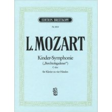 MOZART L. Kinder-Symphonie C-dur