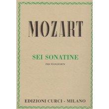 MOZART W.A. Sei Sonatine per Pianoforte