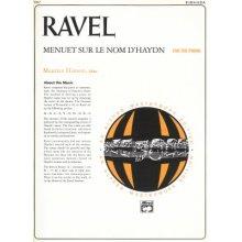 RAVEL M. Menuet sur le nom d'Haydn