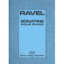 RAVEL M. Sonatine pour Piano