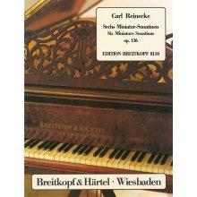 REINECKE C. Sechs Miniatur-Sonatinen Op.136