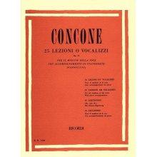 CONCONE 25 Lezioni o Vocalizzi Op.10