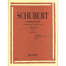 SCHUBERT F. 8 Improvvisi Op.90 e Op.142