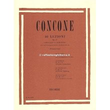 CONCONE 40 Lezioni Op.17