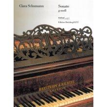 SCHUMANN C. Sonate g-moll