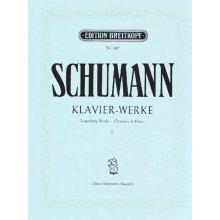 SCHUMANN R. Klavierwerke I (Breitkopf 2617)