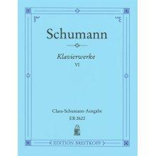 SCHUMANN R. Klavierwerke VI (Breitkopf 2622)
