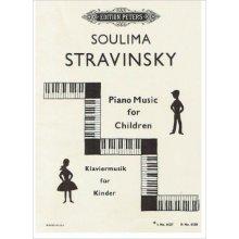 STRAVINSKY S. Piano Music for Children