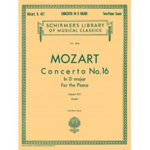 MOZART W.A. Concerto No.16 in D major K.451
