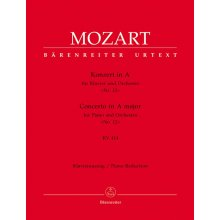 MOZART W.A. Konzert in A Nr.12 KV414