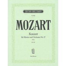 MOZART W.A. Konzert in B-dur Nr.27 KV595