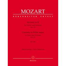 MOZART W.A. Konzert in B Nr.27 KV595