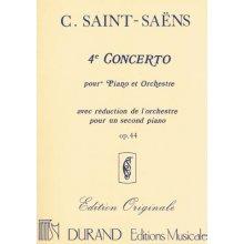 SAINT-SAENS C. Concerto N.4 Op.44