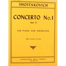 SHOSTAKOVICH D. Concerto No.1 Opus 35