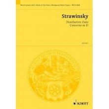 STRAVINSKY I. Concerto in MiB pour Orchestre de Chambre