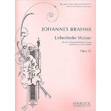 BRAHMS J. Liebeslieder Walzer Op.52