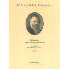 BRAHMS J. Liebeslieder Walzer fur Klavier Op.52