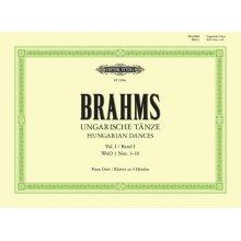 BRAHMS J. Ungarische Tanze Vol.I (Nos. 1-10)